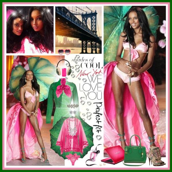 VSFS 2012: Jasmine Tookes & Shanina Shaik (Backstage)
