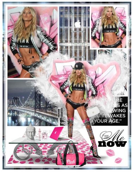 2014 VSFS: Elsa Hosk (University Pink Segment)
