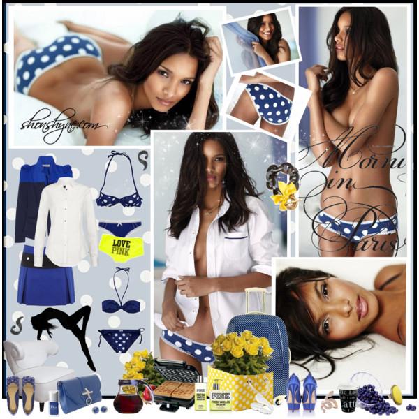 VS Cotton Lingerie 2011/2012: Lais Ribeiro
